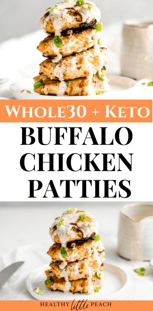 Buffalo Chicken Patties