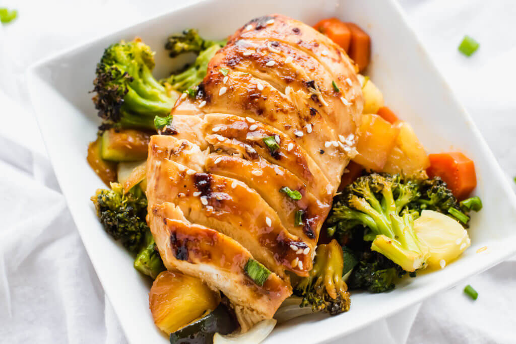 Chicken Teriyaki Sheet Pan