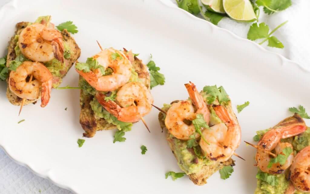 Guacamole Chicken and Shrimp