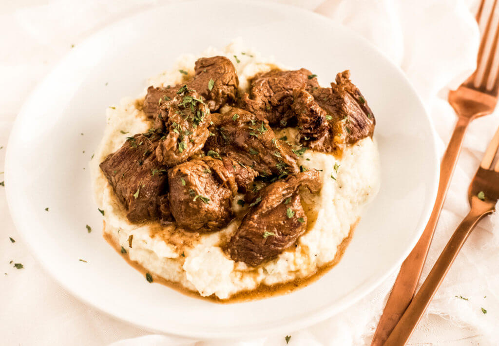 Whole30 Beef Tips