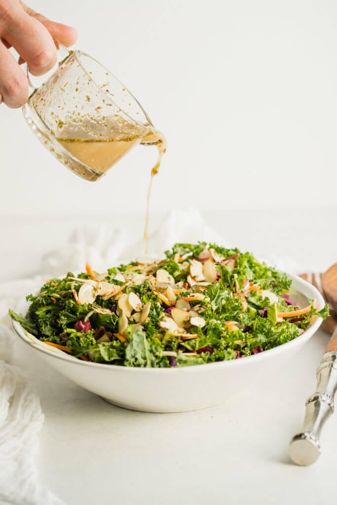 Kale Salad with Zesty Dressing