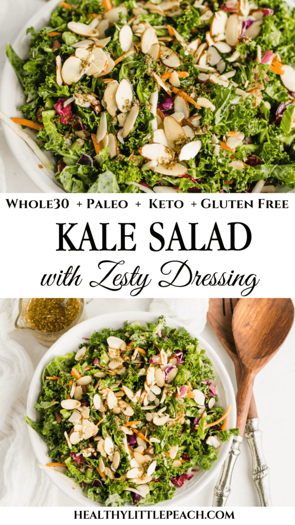 Kale Salad with Zesty Dressing