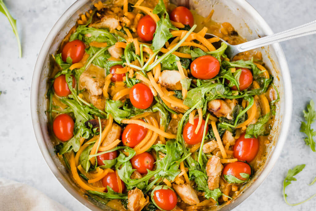 Butternut Squash Pasta with Chicken