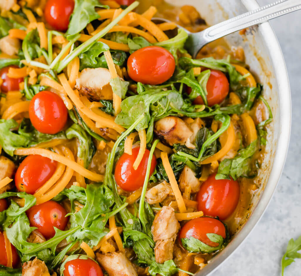 Butternut Squash Chicken Pasta