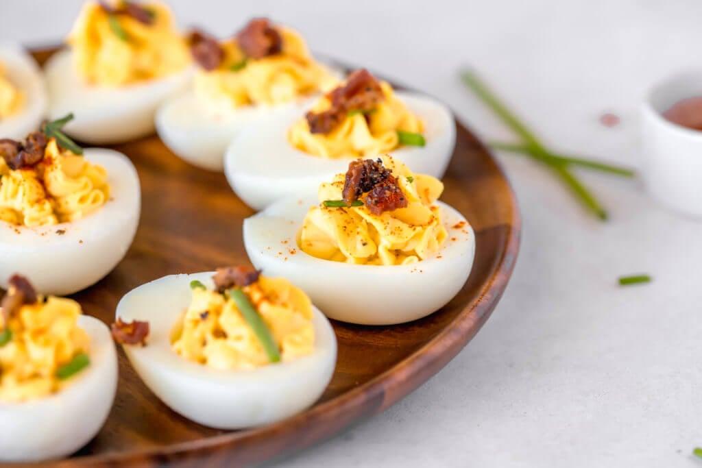 Deviled Eggs Super Bowl Appetizers