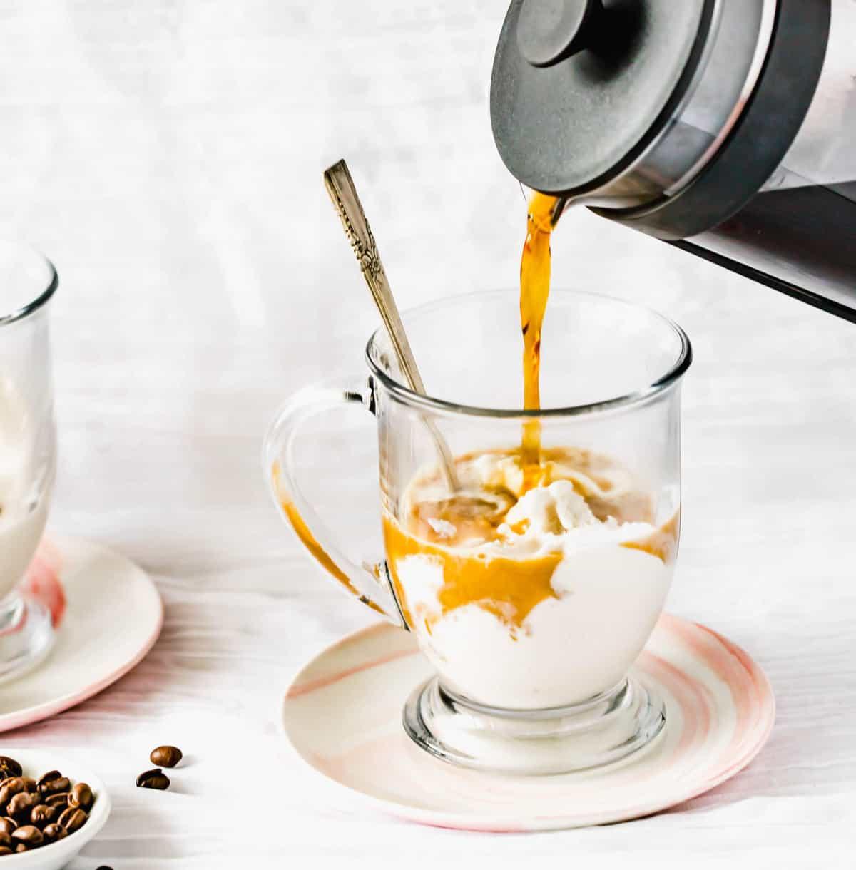 Paleo Ice Cream Coffee