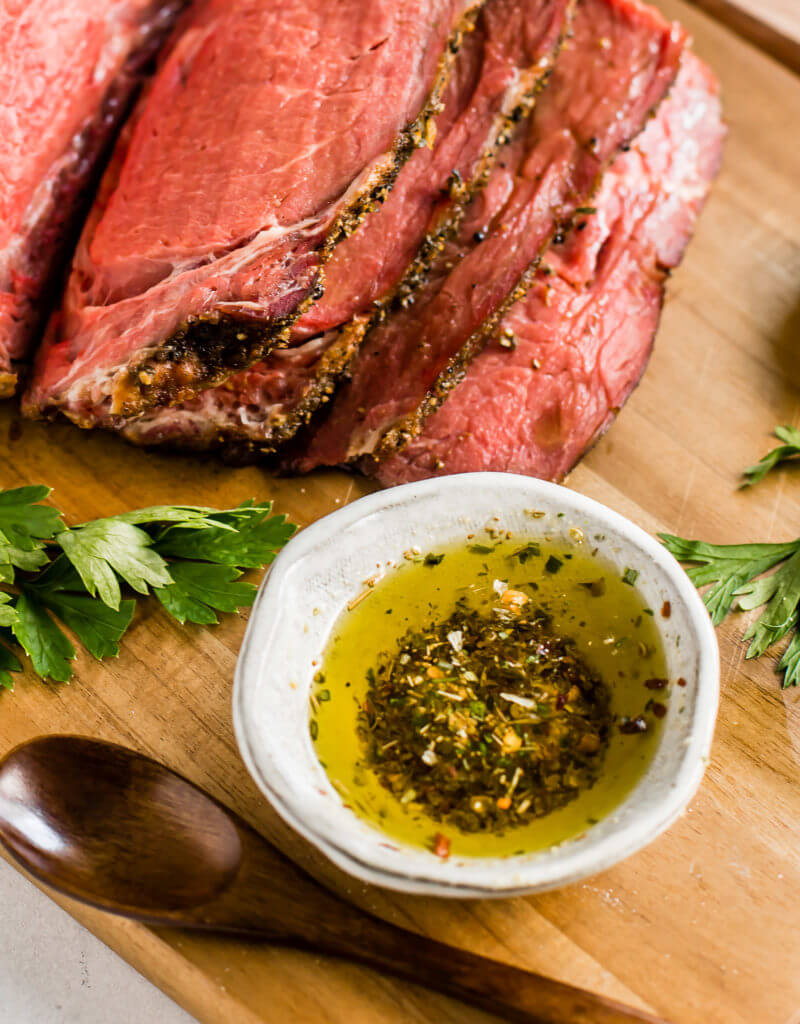 Garlic & Herb Ribeye Roast