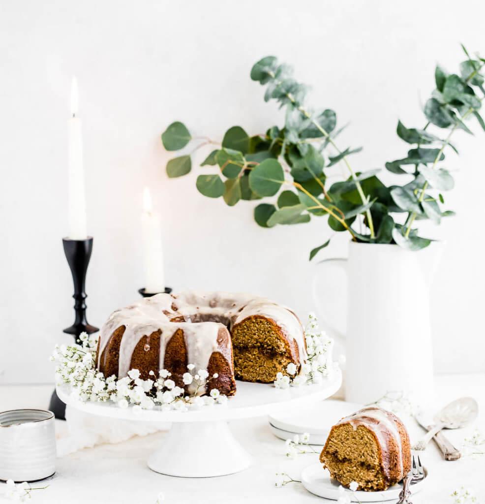 Cinnamon Bun Bundt Cake