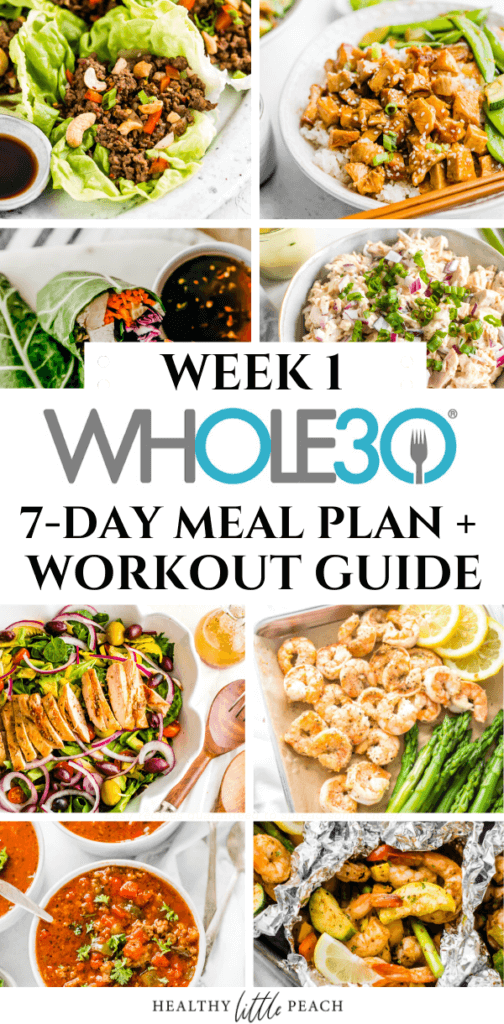 Free Whole30 Meal Plan