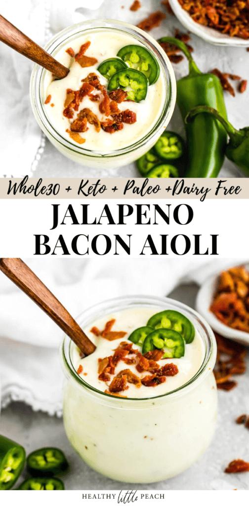 Jalapeno Bacon Aioli