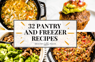32 Easy Pantry and Freezer Recipes