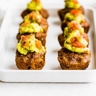 Taco Meatloaf Muffins