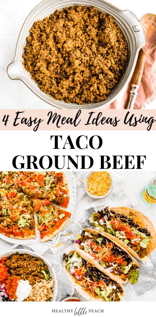 Ground Taco Beef