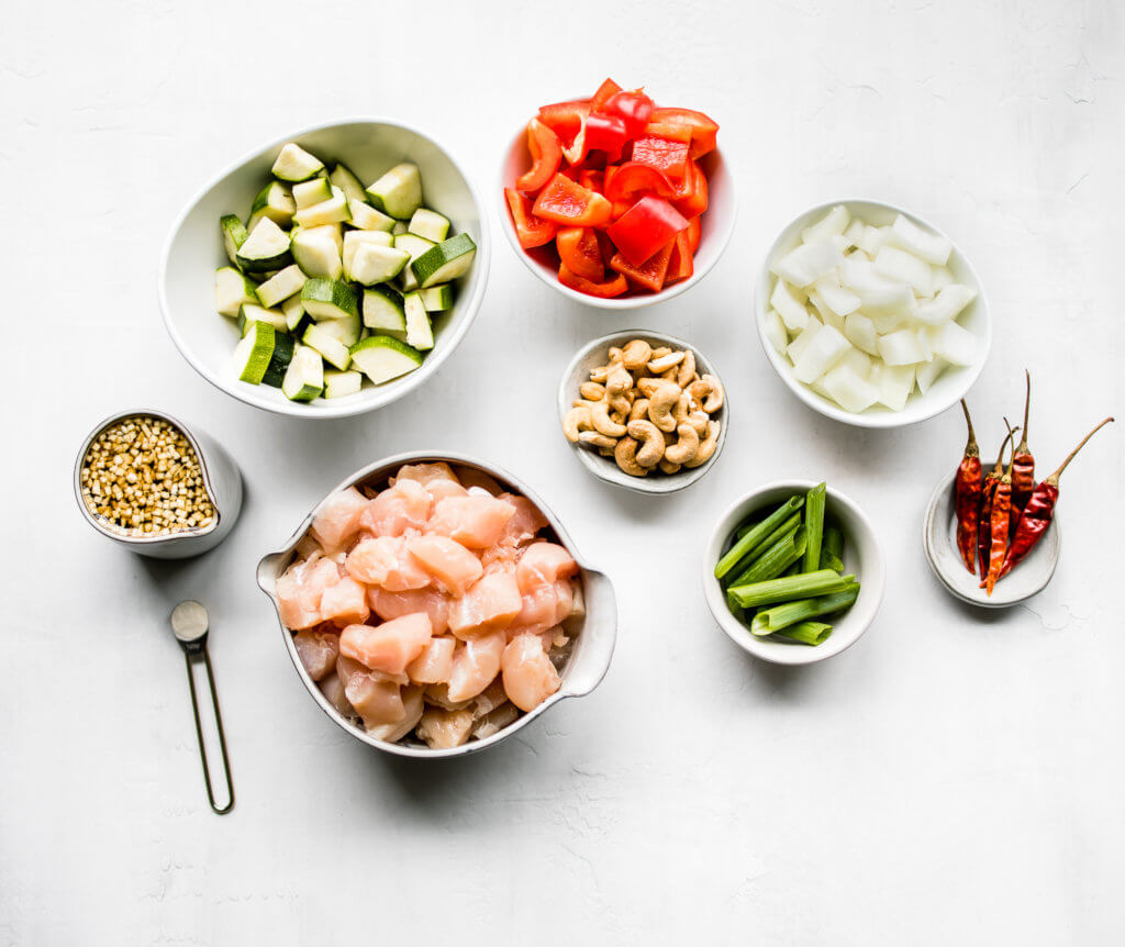Kung Pao Chicken Ingredients