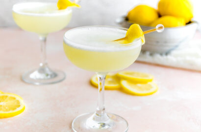 Keto Lemon Drop Martini