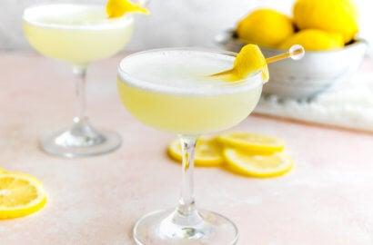 Keto Lemon Drop Martini