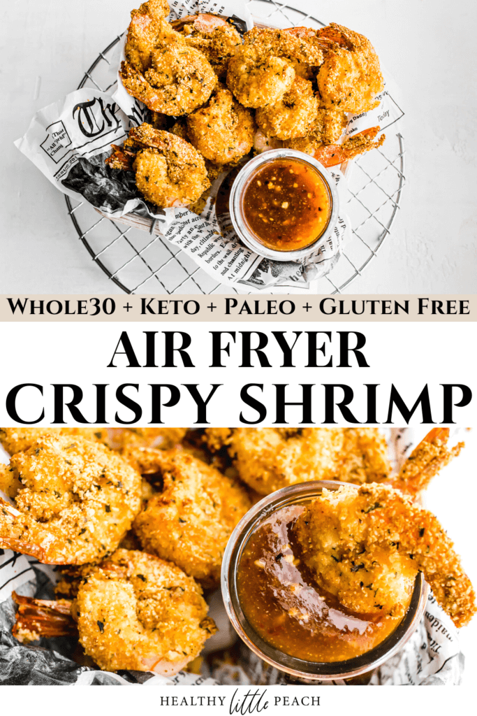 Keto Air Fryer Shrimp