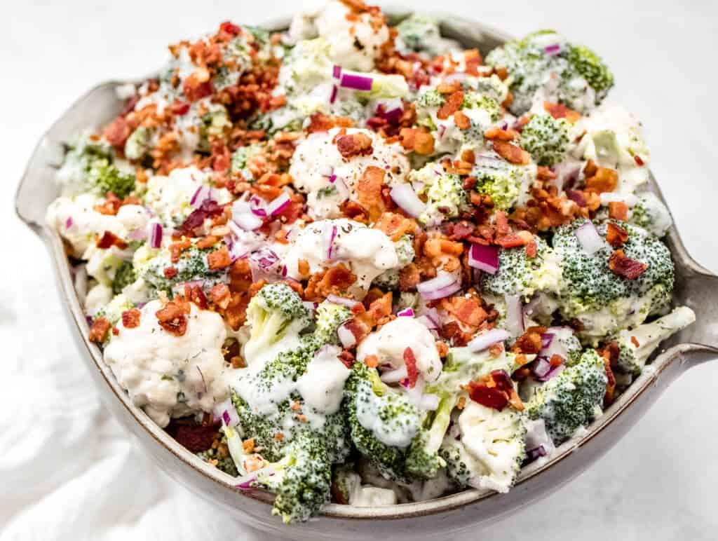 The Ultimate Keto Thanksgiving Menu / Ranch Salad
