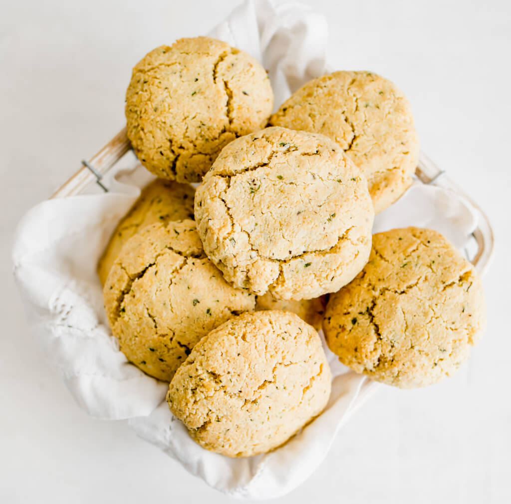 The Ultimate Keto Thanksgiving Menu / Keto Biscuits
