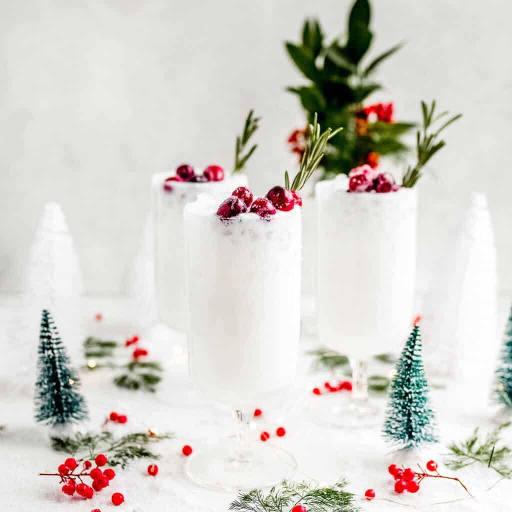 Christmas Margaritas (Dairy Free)