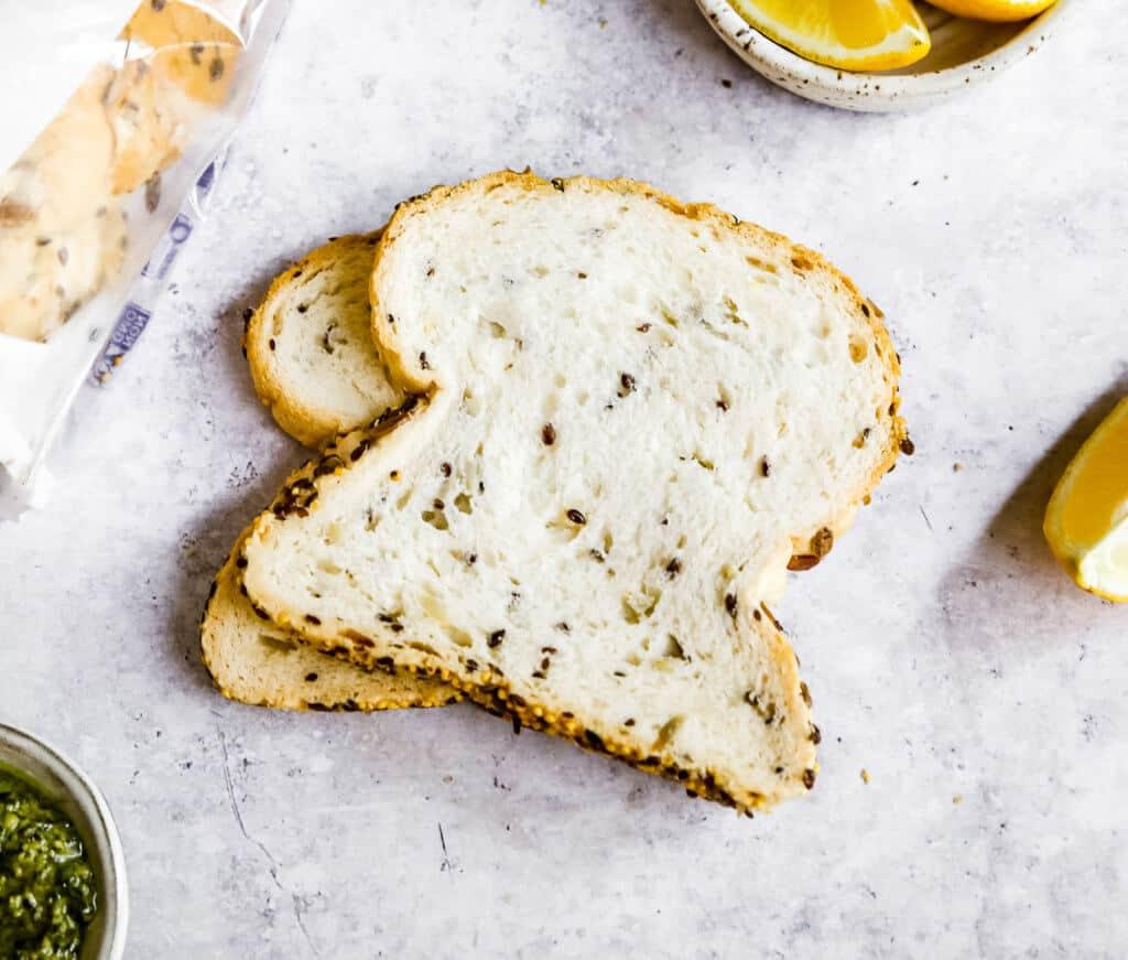 Keto Pesto Grilled Cheese