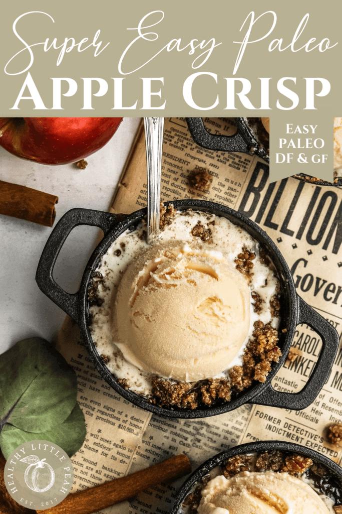 Paleo Apple Crisp Pinterest Pin